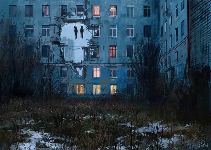 تصویر ترسناک اثر استفان کوئیدل شماره 24
