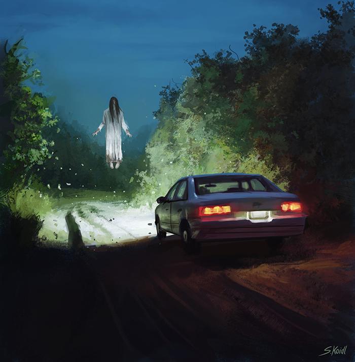 تصویر ترسناک اثر استفان کوئیدل شماره 13