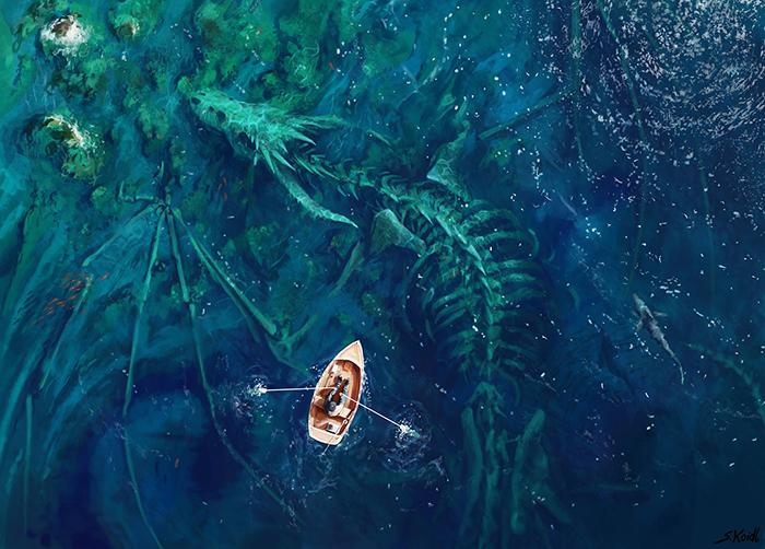 تصویر ترسناک اثر استفان کوئیدل شماره 3
