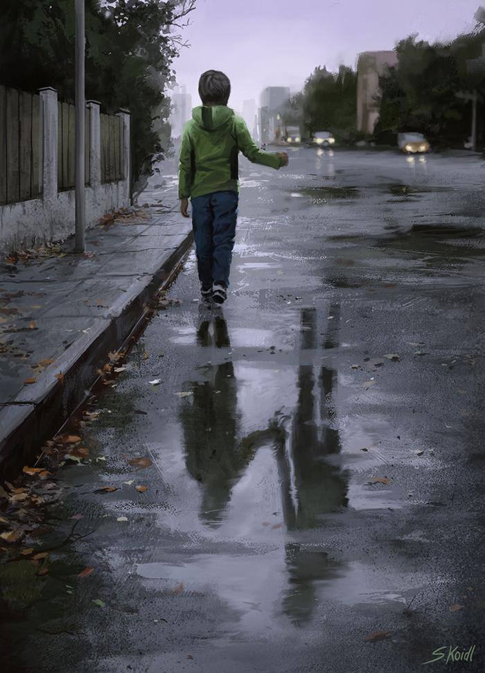 تصویر ترسناک اثر استفان کوئیدل شماره 2