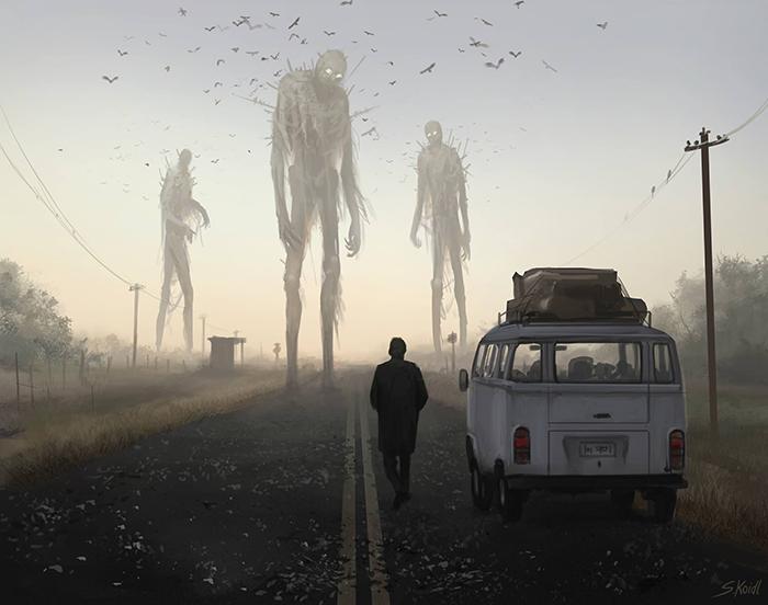 تصویر ترسناک اثر استفان کوئیدل شماره 35