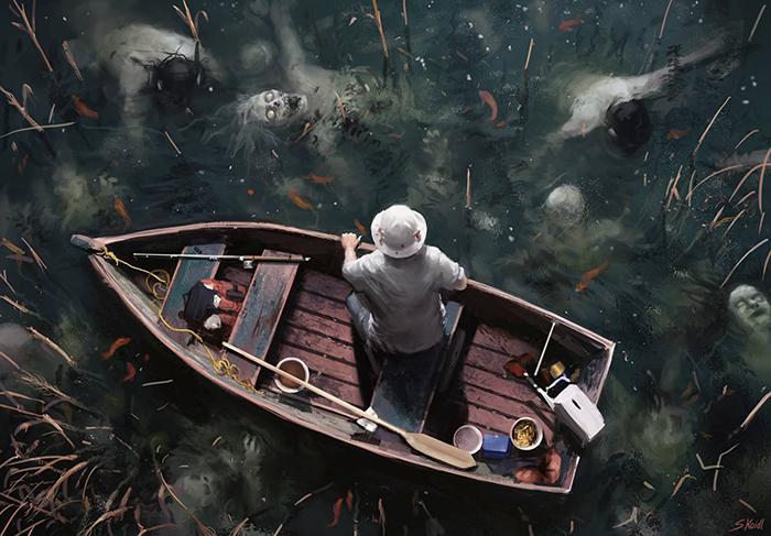 تصویر ترسناک اثر استفان کوئیدل شماره 5
