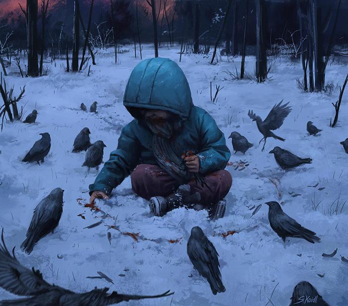 تصویر ترسناک اثر استفان کوئیدل شماره 17