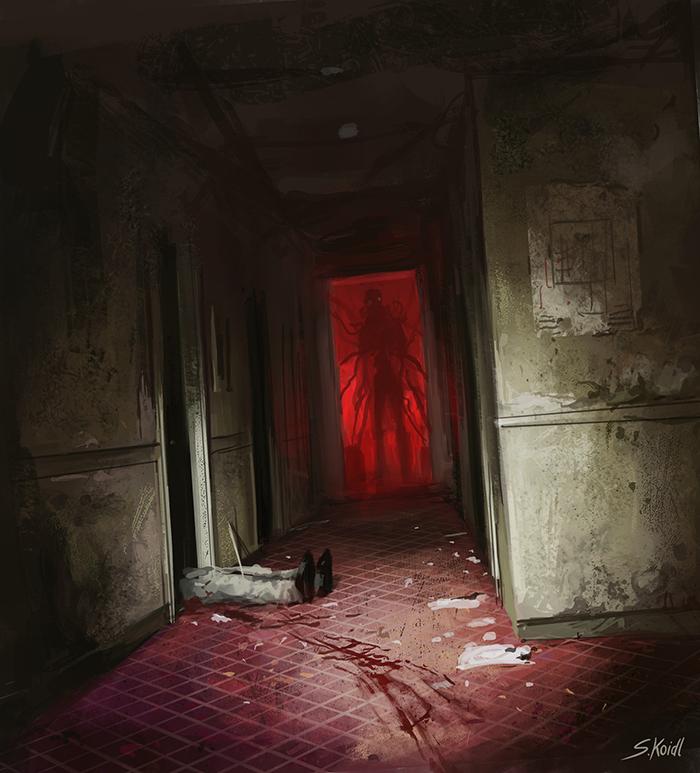 تصویر ترسناک اثر استفان کوئیدل شماره 16