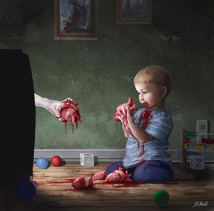 تصویر ترسناک اثر استفان کوئیدل شماره 22
