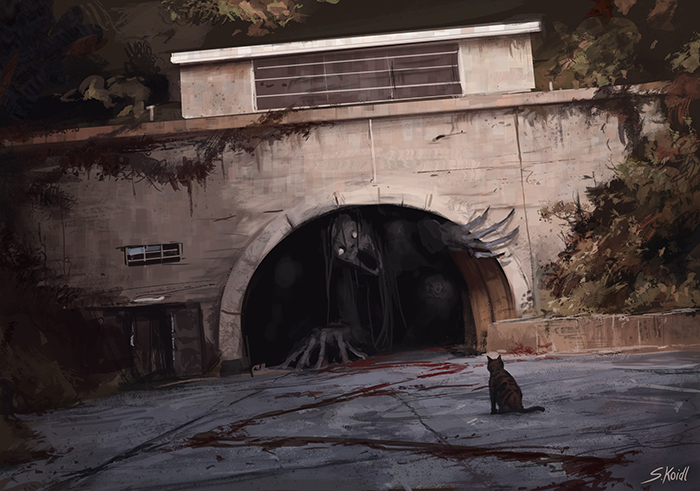 تصویر ترسناک اثر استفان کوئیدل شماره 11