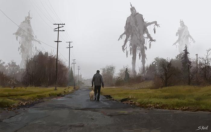 تصویر ترسناک اثر استفان کوئیدل شماره 18