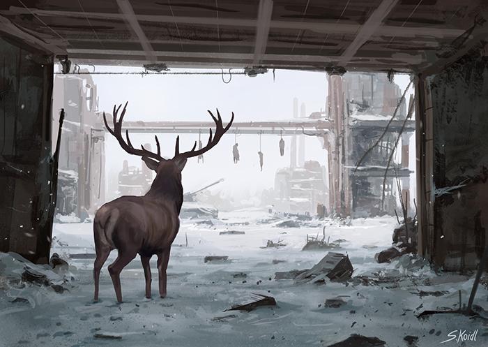 تصویر ترسناک اثر استفان کوئیدل شماره 1
