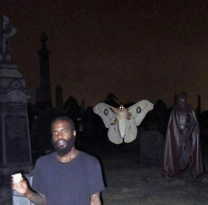 بت من، شب پره و شاید قبرستان!